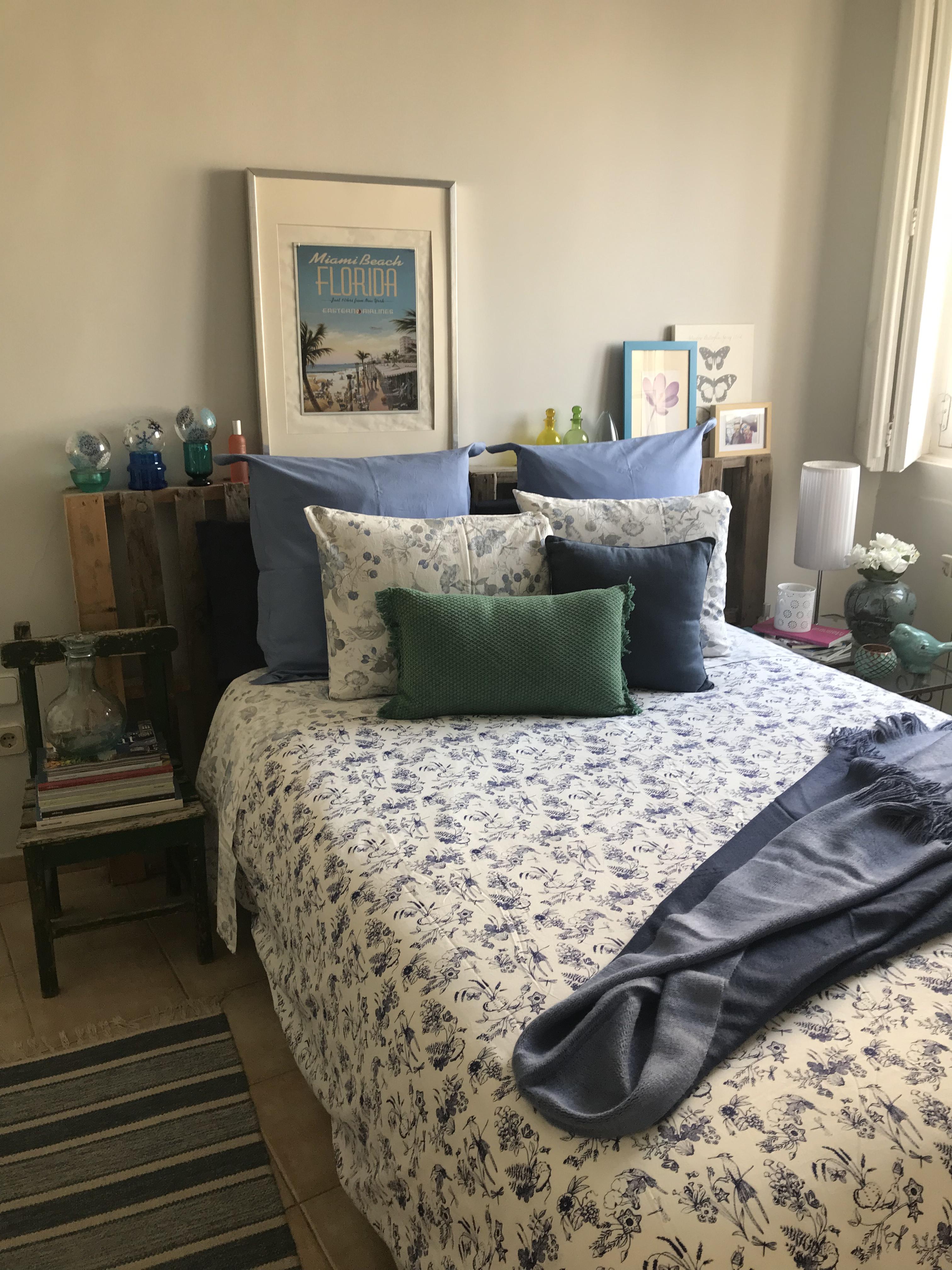 Manta Doble Flecos Azul - Zara Home
