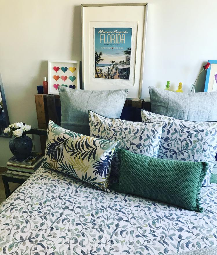 Toques tropicales para tu dormitorio