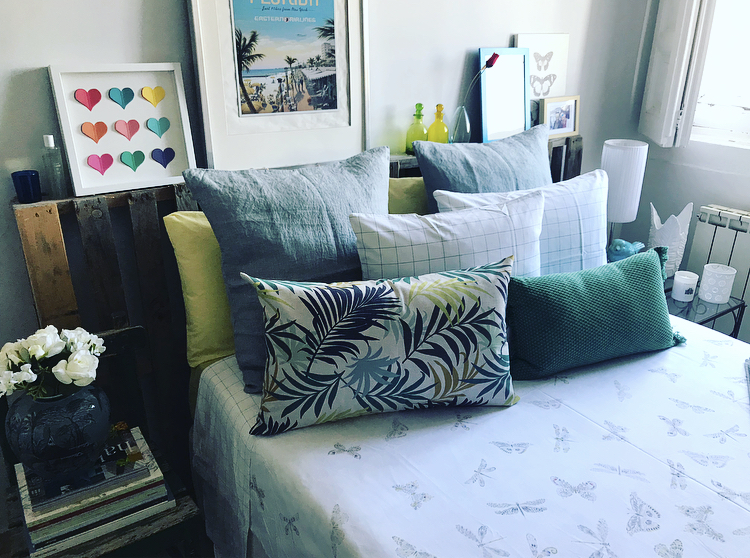 Coordinación primaveral en tu dormitorio