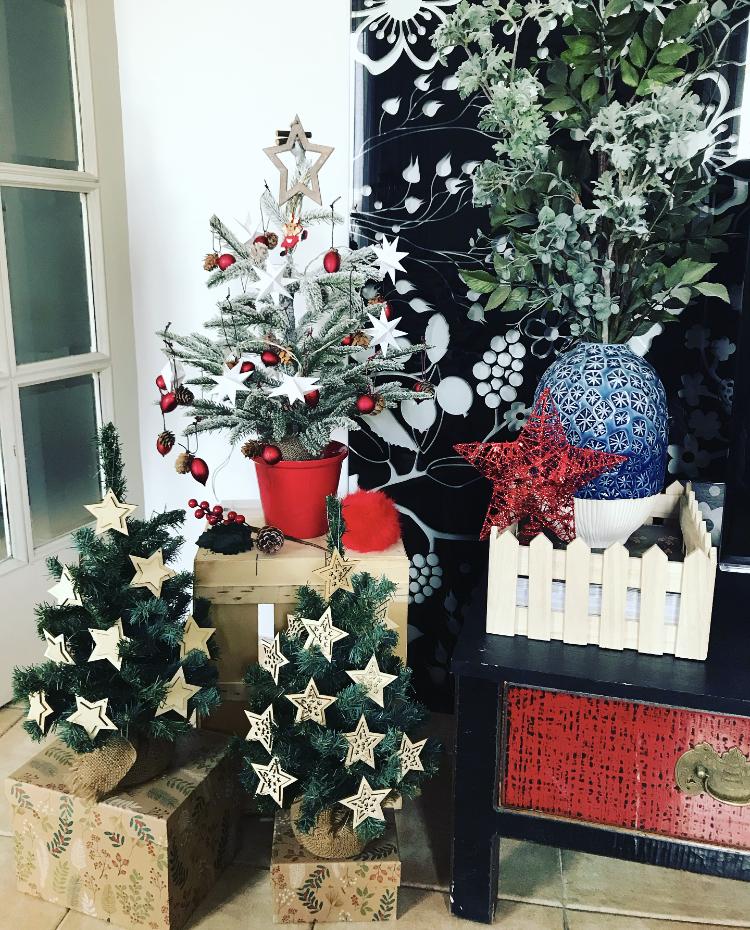 Nuestros árboles de Navidad